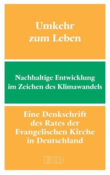 Umkehr zum Leben - Evangelische Kirche in Deutschland