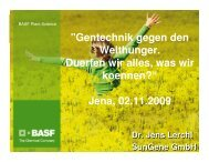 BASF Plant Science - Oekumenischer-hochschulbeirat-jena.de