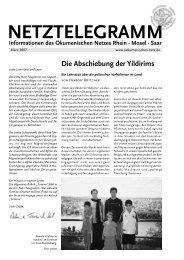 Die Abschiebung der Yildirims - Ökumenisches Netz Rhein-Mosel ...