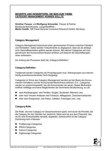 CM-Definitionen Download - Fiesser & Partner