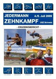 308 Zehnkämpfer beim Jedermann Zehnkampf 2009