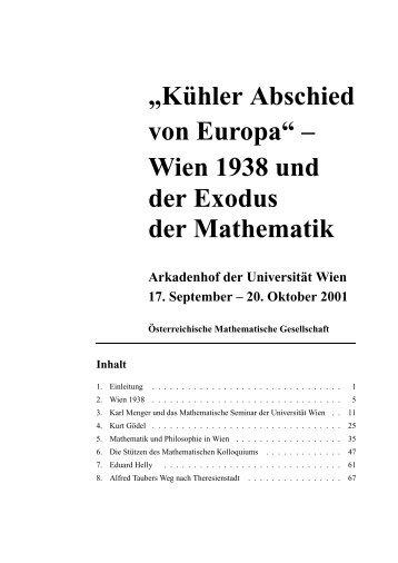 PDF, 7.8MB - Österreichische Mathematische Gesellschaft