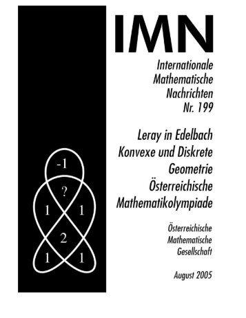 199 - Österreichische Mathematische Gesellschaft