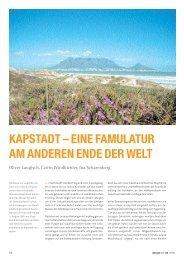 Kapstadt - eine Famulatur am anderen Ende der Welt - zahniportal.de