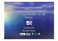 Digitale Donaukarte Ergebnis - OEN-IAD