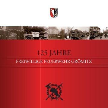 125-jährigen Jubiläum! - Feuerwehr Grömitz