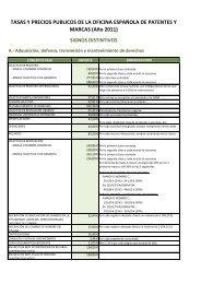 solicitudes electrónicas - Oficina Española de Patentes y Marcas
