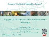 10,00 h - Oficina Española de Patentes y Marcas