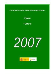 TOMOS_I_ II_2007.XLS - Oficina Española de Patentes y Marcas