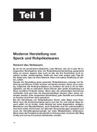 Moderne Herstellung von Speck und ... - Elektrojournal.at