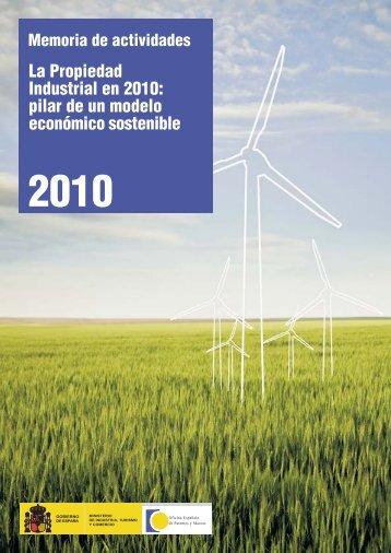 Memoria_de_actividades_2010.pdf - Oficina Española de Patentes ...
