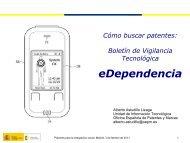 Ponente: D. Alberto - Oficina Española de Patentes y Marcas