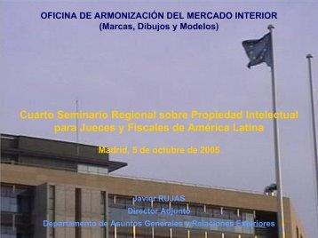 Sr. D. Javier Rujas Mora-Rey. Director Adjunto. Depto. De Asuntos ...