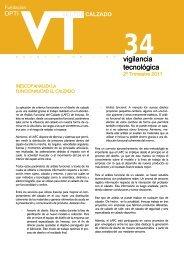 Sector calzado nº 34 - Oficina Española de Patentes y Marcas