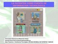 Las patentes como fuente de información tecnológica - Oficina ...