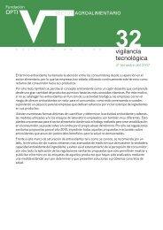 Sector Agroalimentario - Oficina Española de Patentes y Marcas