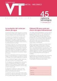 Sector metal-mecánico - Oficina Española de Patentes y Marcas
