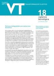 Sector transformador plástico - Oficina Española de Patentes y Marcas