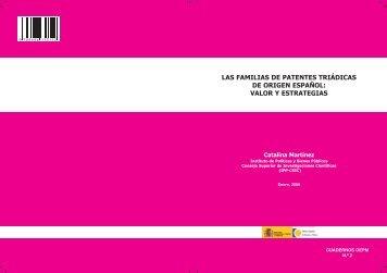 PatentesTriadicas.pdf - Oficina Española de Patentes y Marcas