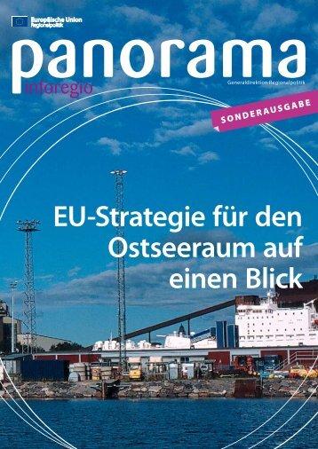 EU-Strategie für den Ostseeraum auf einen Blick - Europa