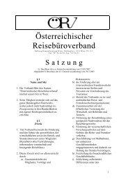 Österreichischer Reisebüroverband - ÖRV