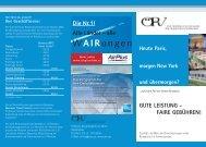 ÖRV Business Flyer