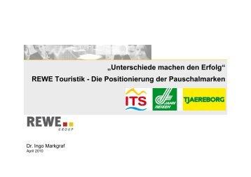 REWE Touristik - Die Positionierung der Pauschalmarken