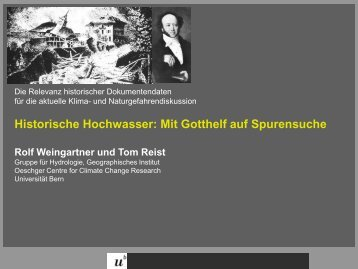 PDF (4.7 MB) - Oeschger Centre for Climate Change Research ...