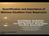 Quantification and Importance of Methane Ebullition from Reservoirs