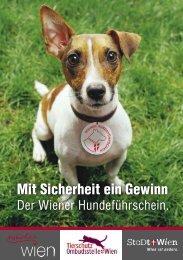Folder Wiener Hundeführschein
