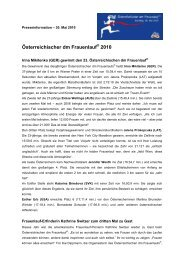 Österreichischer dm Frauenlauf 2010 - Österreichischer Frauenlauf