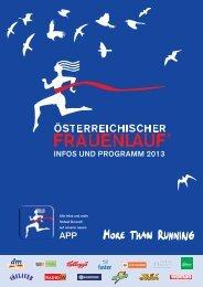 Programm - Österreichischer Frauenlauf