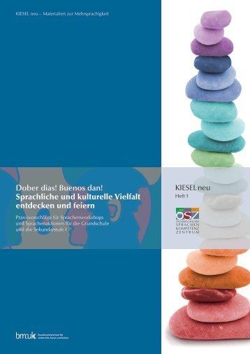 Dober dias! Buenos dan! Sprachliche und kulturelle Vielfalt ...