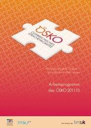 Arbeitsprogramm - Österreichisches-Sprachen-Kompetenz-Zentrum