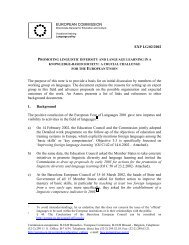 EUROPEAN COMMISSION EXP LG/02/2002 The purpose of this ...