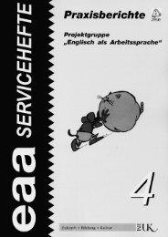 EAA Serviceheft 4, Teil I - Österreichisches-Sprachen-Kompetenz ...