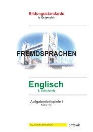 Aufgabenbeispiele I - Österreichisches-Sprachen-Kompetenz-Zentrum