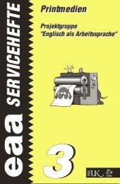 eaa - serviceheft 3 Printmedien - Österreichisches-Sprachen ...