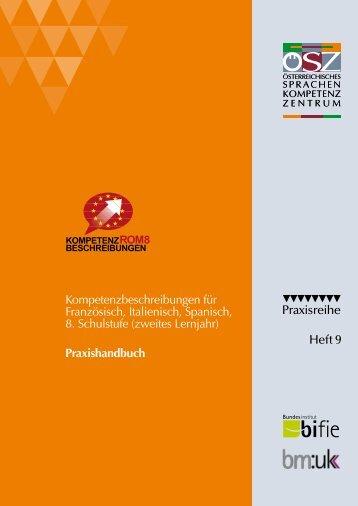Kompetenzbeschreibungen ROM 8 - Österreichisches-Sprachen ...