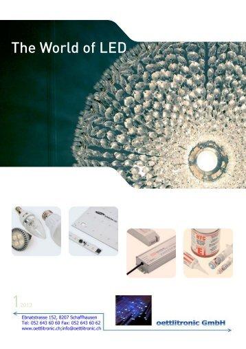 The World of LED - oettlitronic