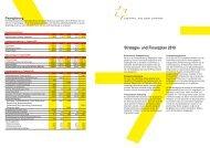 Strategie- und Finanzplan 2010 - Gemeinde Oetwil an der Limmat