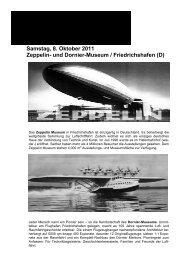 Flyer Dornier Museum 2 - Oetwil an der Limmat