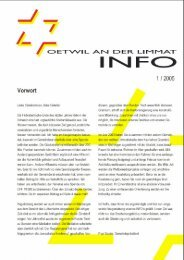 Ausgabe 1/2005 - Gemeinde Oetwil an der Limmat