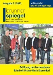 brunner - Österreichische Volkspartei Brunn am Gebirge