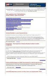Newsletter vom 13.07.2009 - Österreichische Volkspartei Brunn am ...