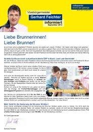 geht zu Gerhard Feichter informiert