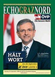 Echo-Graz-Nord - bei der ÖVP Andritz