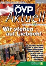 Oktober 2009 - ÖVP Lieboch