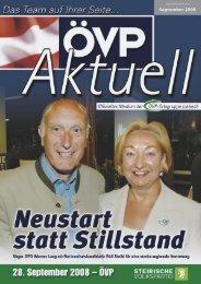 September 2008 - ÖVP Lieboch