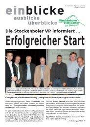 Die Stockenboier VP informiert ... - ÖVP Kärnten
